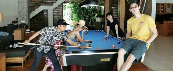 VILLA KINARA WITH POOL TABLE