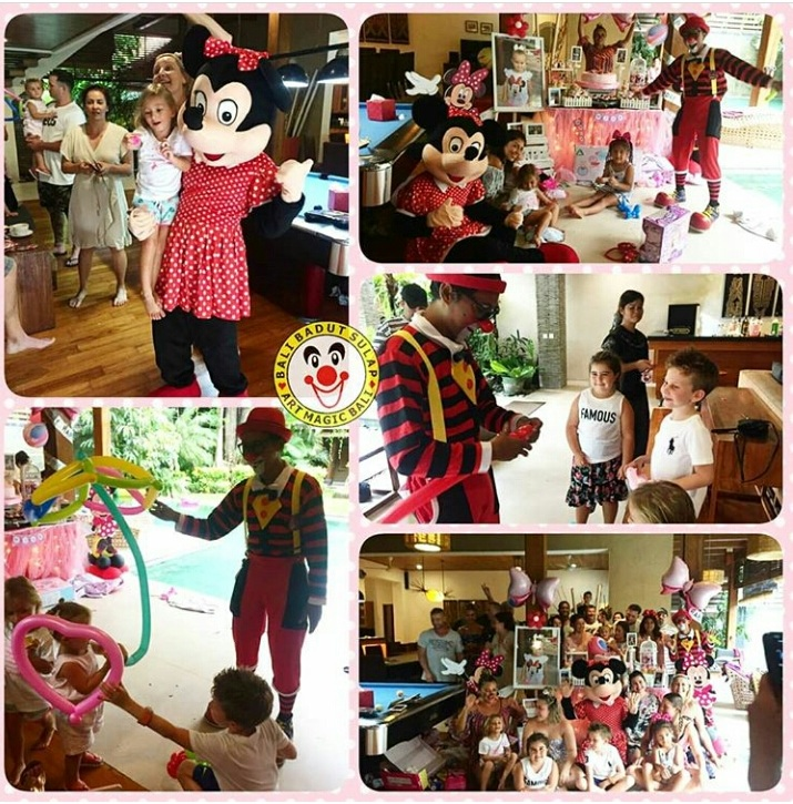 Mila's birthday party at Villa Kinaree