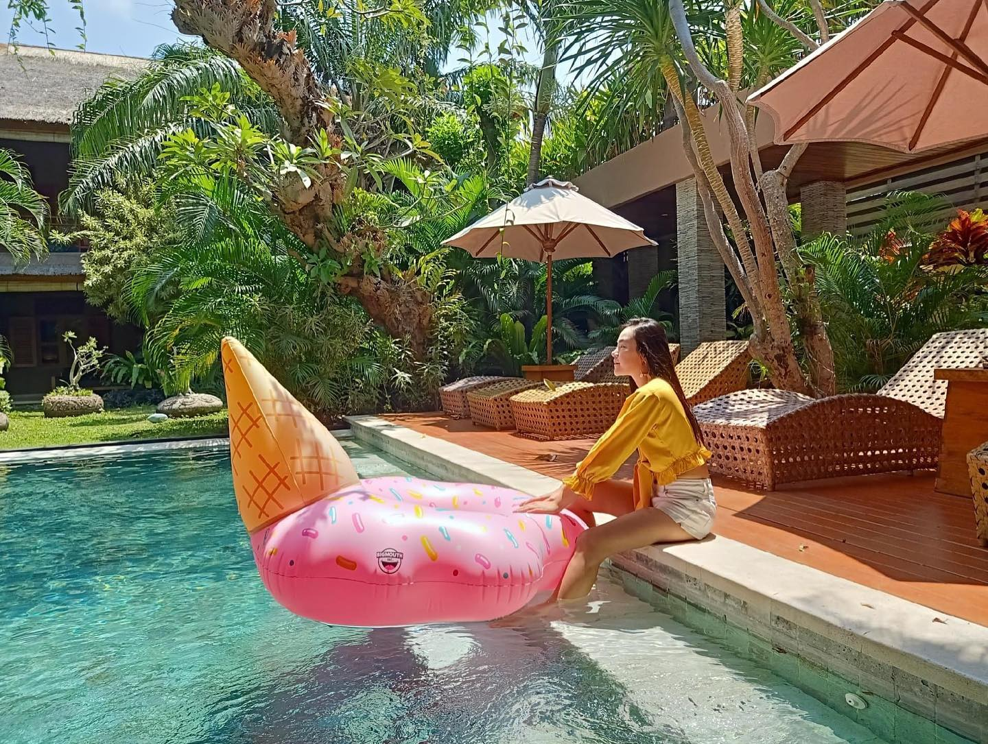 Spend a week at your Kinaree villa and experience the luxury of private pool to cool off in at any t